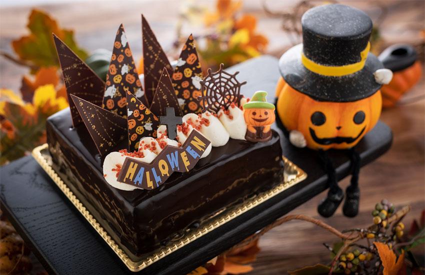ハロウィンケーキ1